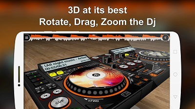 دانلود نرم افزار DJ مینی DiscDj 3D Music Player v3.001s – اندروید